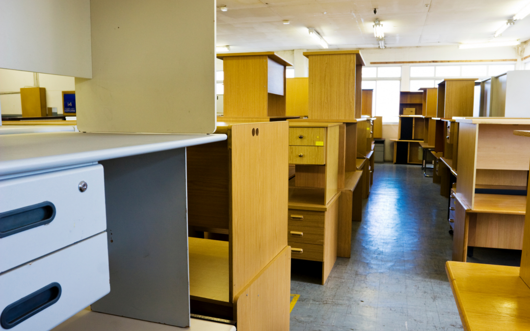 2,600 Workstation Office Clearance for Partners Sodexo